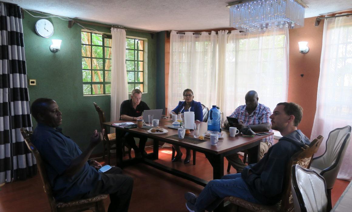 THE JITU meeting with Dedan Kimathi University Officials